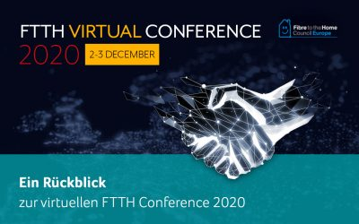 atene KOM als Premiumpartner auf der FTTH Virtual Conference 2020