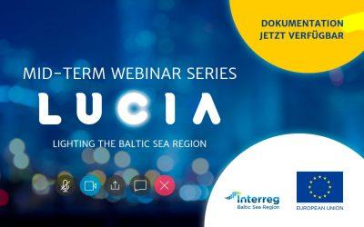 Rückschau: LUCIA-Webinar-Reihe zu öffentlicher Beleuchtung