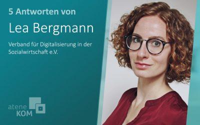 """Lea Bergmann, vediso: """"Die Digitalisierung öffnet Türen."""""""