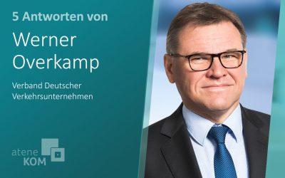 """Werner Overkamp, VDV: """"Mittel- bis langfristig können fahrerlose Shuttles überall ein ständiges ÖPNV-Angebot sicherstellen."""""""