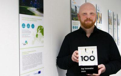 Award-winning innovative strength: atene KOM receives TOP 100 seal of approval