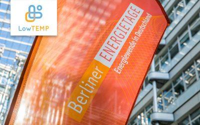 LowTEMP im Innovationskatalog Berliner Energietage 2021: Nachhaltige Fernwärmenetze als Triebkraft für Energiewende und Klimaschutz