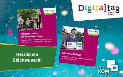 Digitaltag 2021: Das sind die Gewinner des Preises für digitales Miteinander!