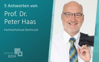 """Prof. Dr. Peter Haas, FH Dortmund: """"eLearning wurde lange in Deutschland unterschätzt."""""""