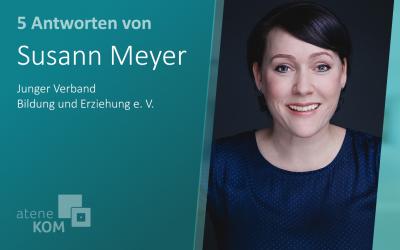 """Susann Meyer, Junger VBE: """"Der Ruf nach mehr Digitalisierung wurde in den letzten Jahren immer lauter."""""""