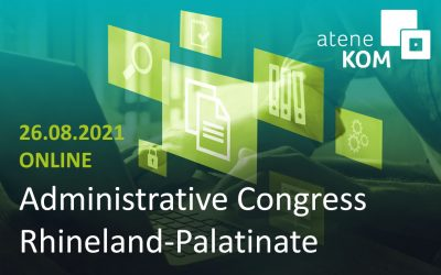 Administrative Congress: Tim Brauckmüller shows geoinfotool for Rhineland-Palatinate