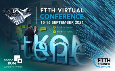 FTTH Virtual Conference: Großer Andrang bei der atene KOM