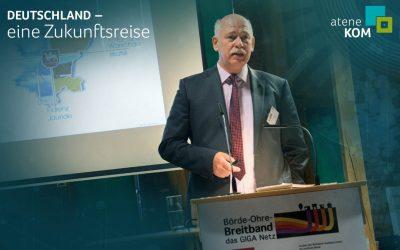 """Breitbandbeauftragter Holger Haupt: """"Infrastrukturen sind immer der Schlüssel für Fortschritt"""""""