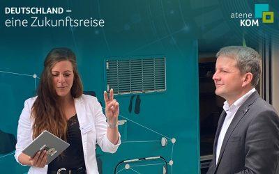 """Oberbürgermeister Rico Badenschier: """"Wir können mit digitalen Angeboten mehr Teilhabe organisieren"""""""