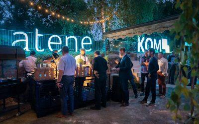 Gelungenes Get-Together in der atene KOM Akademie
