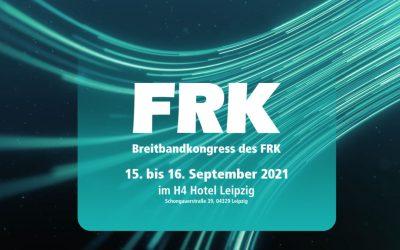 FRK-Breitbandkongress: Tim Brauckmüller gibt Einblick in den geförderten Breitbandausbau