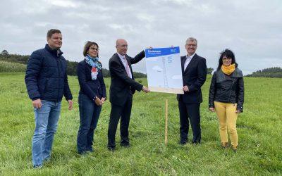 In Glambeck wird die Funkmasten-Infrastrukturgesellschaft M-V ihr erstes Funkloch schließen