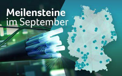Breitbandausbau im September: BMVI fördert Glasfaserprojekte mit über 222,5 Millionen Euro